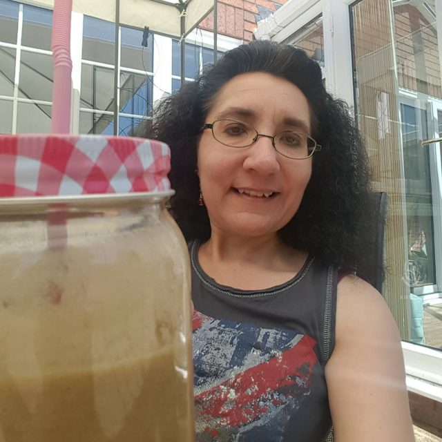 Photobombed by a delicous smoothie made in a blendtecuk pineapplehellip