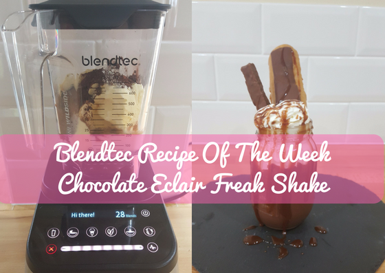 Blendtec Recipe Of The Week: Chocolate Eclair Freakshake