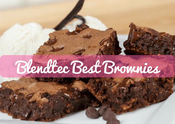 Blendtec Recipe of the Week: Best Brownies