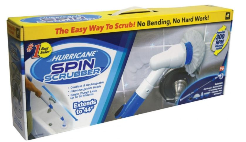 Hurricane Spin Scrubber: Review by Guest Blogger Russell Ventura