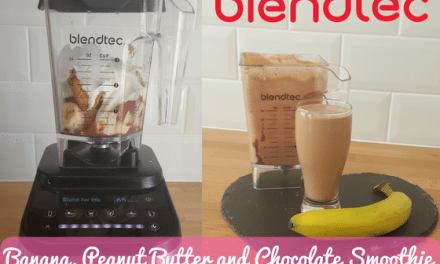 Blendtec Recipe of the Week: Banana, Peanut Butter and Chocolate Smoothie