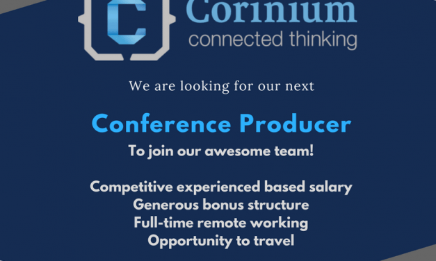 Vacancy: Conference Producer at Corinium Global Intelligence