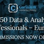 Top 50 Data and Analytics Professionals Europe/EMEA – Submissions Now Open